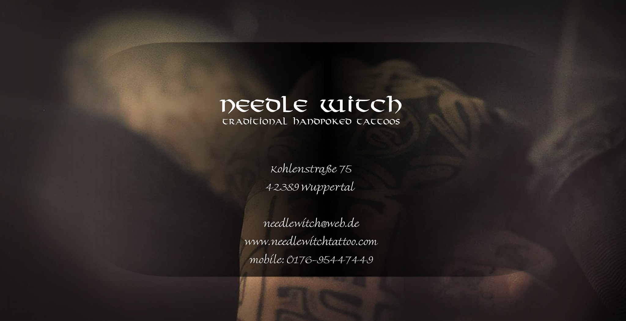 Needle Witch Tattoo